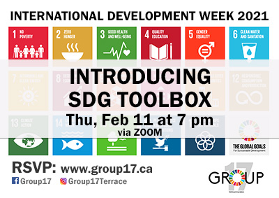 Group 17 SDG Toolbox Launch